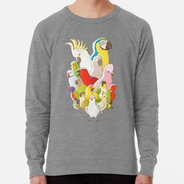 Parrot Party Lightweight Sweatshirt