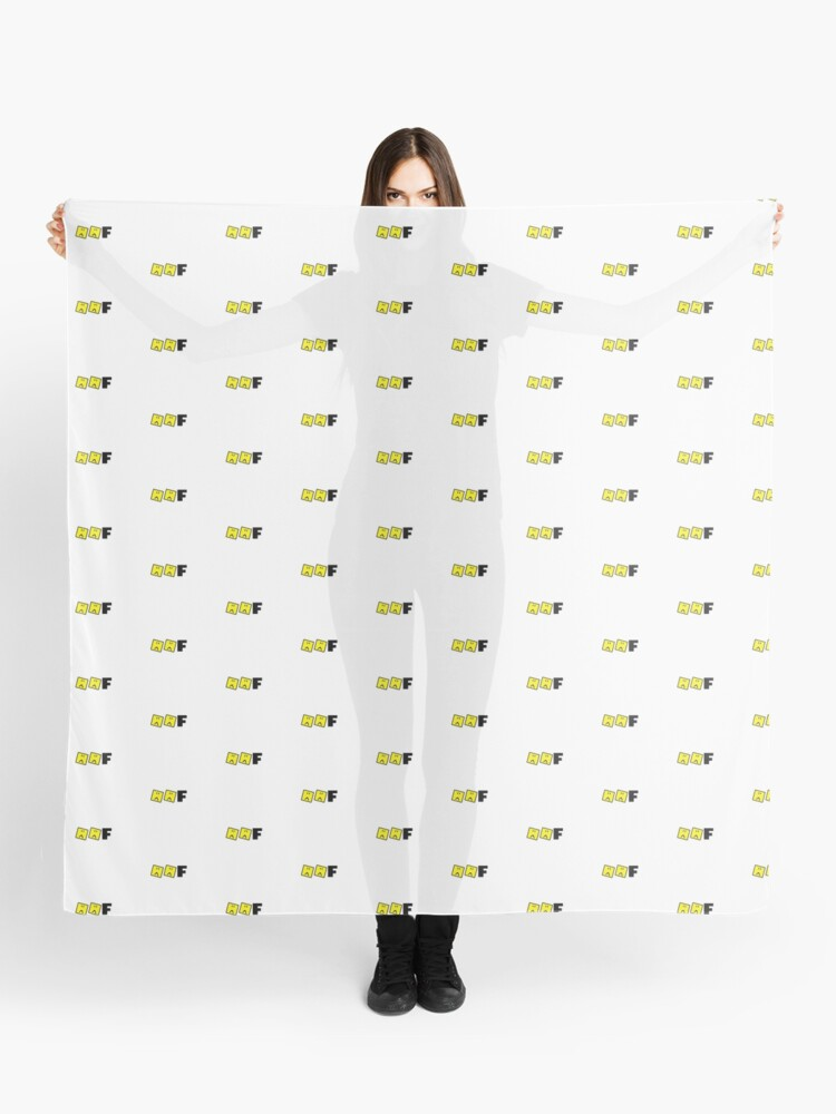 Roblox Oof Sad Face Scarf By Hypetype Redbubble