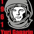 Yuri Gagarin by losfutbolko