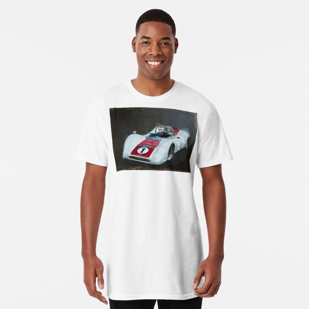 White Can-Am Lola T160 Long T-Shirt