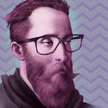 Old portrait hipster by goblinight
