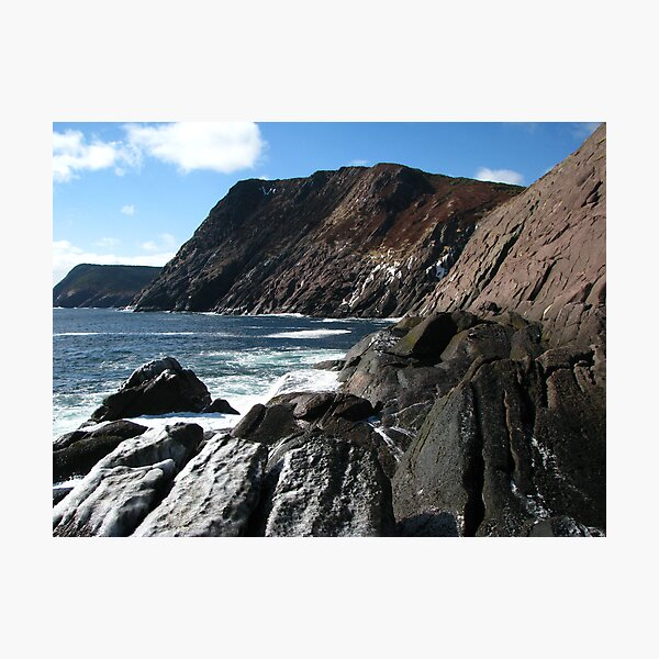 Afternoon at Outer Cove Photographic Print