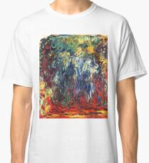 """Claude Monet """"Weeping Willow, Giverny"""", 1922 Classic T-Shirt"""