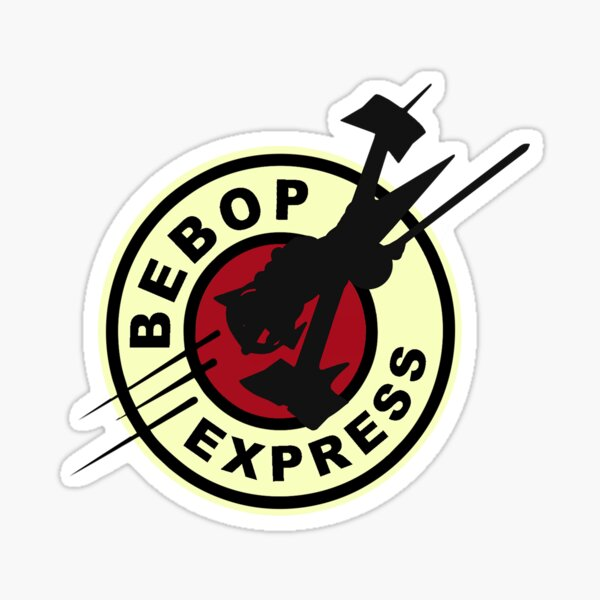 Bebop Express Sticker