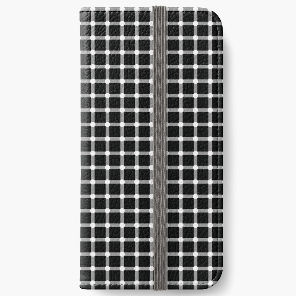 Pattern, tracery, drawing, picture, structure, composition, texture, motif iPhone Wallet