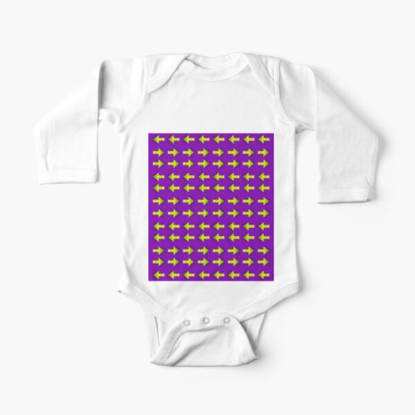 Moving illusion, Op art, optical art, visual art, optical illusions, abstract, Hip, modish, astonishing, amazing, surprising, wonderful, remarkable, extraordinary Long Sleeve Baby One-Piece