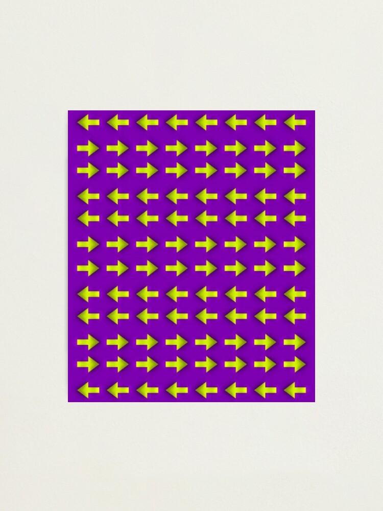 Alternate view of Moving illusion, Op art, optical art, visual art, optical illusions, abstract, Hip, modish, astonishing, amazing, surprising, wonderful, remarkable, extraordinary Photographic Print
