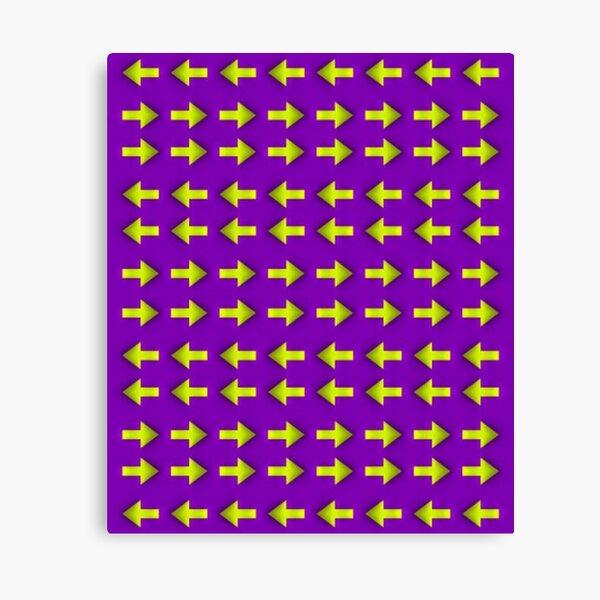 Moving illusion, Op art, optical art, visual art, optical illusions, abstract, Hip, modish, astonishing, amazing, surprising, wonderful, remarkable, extraordinary Canvas Print