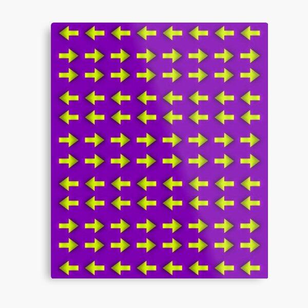 Moving illusion, Op art, optical art, visual art, optical illusions, abstract, Hip, modish, astonishing, amazing, surprising, wonderful, remarkable, extraordinary Metal Print