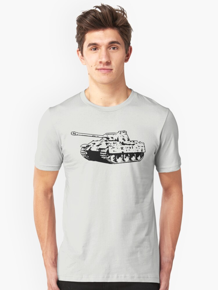 Panther Tank Unisex T-Shirt Front