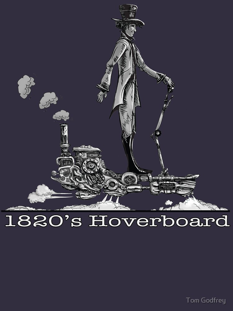 Steampunk Hoverboard by Lefrog
