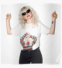 Hayley Williams wearing a Hayley Williams Shirt Poster