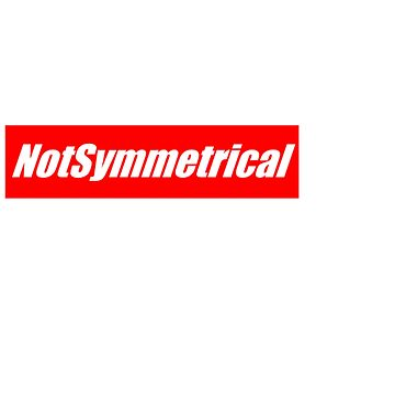 NotSymmetrical ''Supreme'' shirt by JakiTheRed