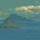 Caribbean islands by Soualigua