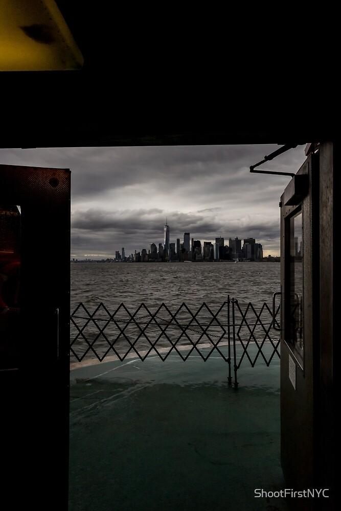 «Puerta de entrada a Nueva York» de Sean Sweeney
