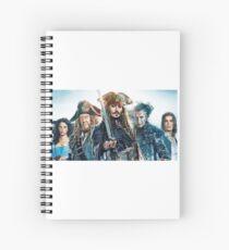 Cuaderno de espiral Pirattes del Caribe