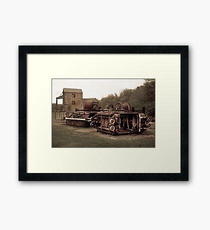 DAYS GONE BY II Framed Print