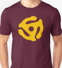 Yellow 45 RPM Vinyl Record Symbol T-Shirt