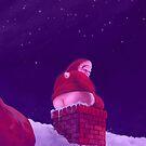 Shitty Santa by Zach Wong