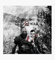 god of war new Photographic Print