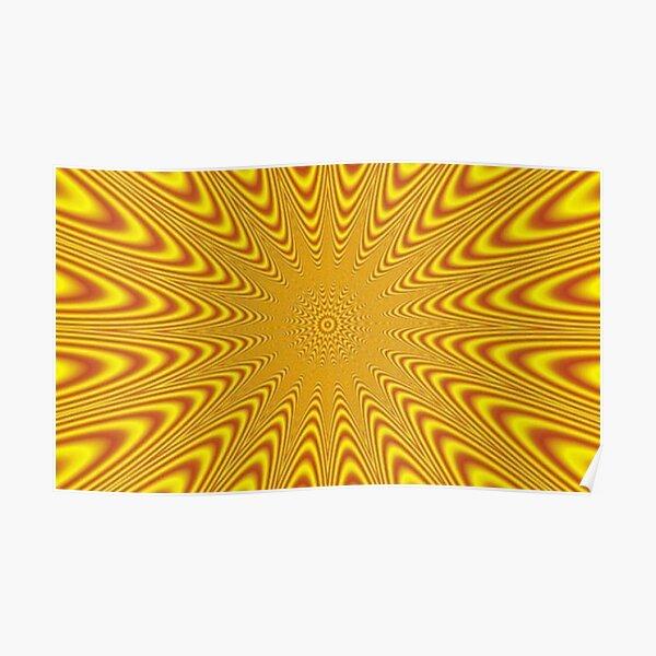 Op art, optical art, visual art, optical illusions, abstract, Composition, frame, texture,  decoration, motif, marking, ornament, ornamentation Poster