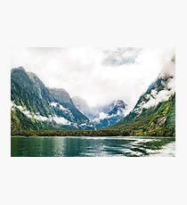 Milford Sound, Fiordland National Park, New Zealand Photographic Print