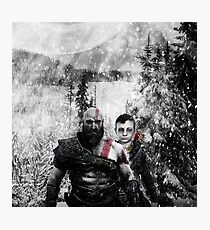 god of war new with out logo Photographic Print