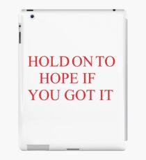 26 - Paramore Lyrics iPad Case/Skin