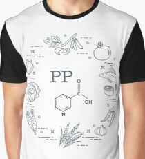 Foods rich in vitamin PP. Graphic T-Shirt