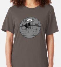 That's No Moon! Slim Fit T-Shirt