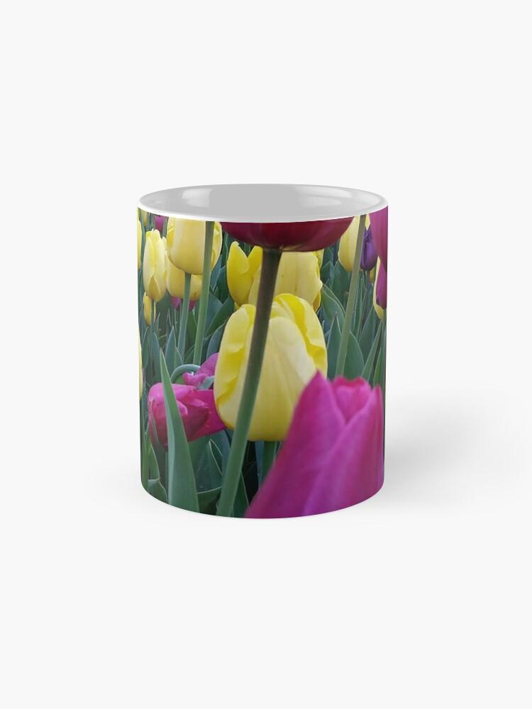 Alternate view of Through The Tulips Mug