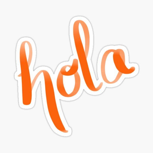 Hola. Pegatina