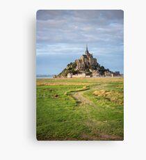 Mont Saint Michel abbey Canvas Print