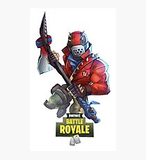 Fortnite Battle Royale Photographic Print