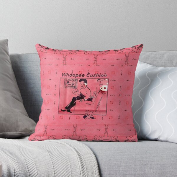 Whoopee Cushion Throw Pillow
