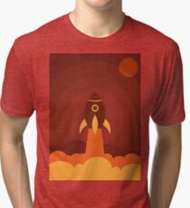 Up in the space Tri-blend T-Shirt