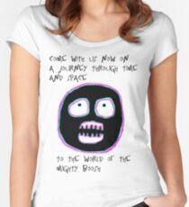 The Mighty Boosh - Time and Space Women's Fitted Scoop T-Shirt