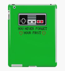 Never Forget Your First Nintendo iPad Case/Skin