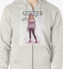 There's Something In Me - Miriam 2 Zipped Hoodie