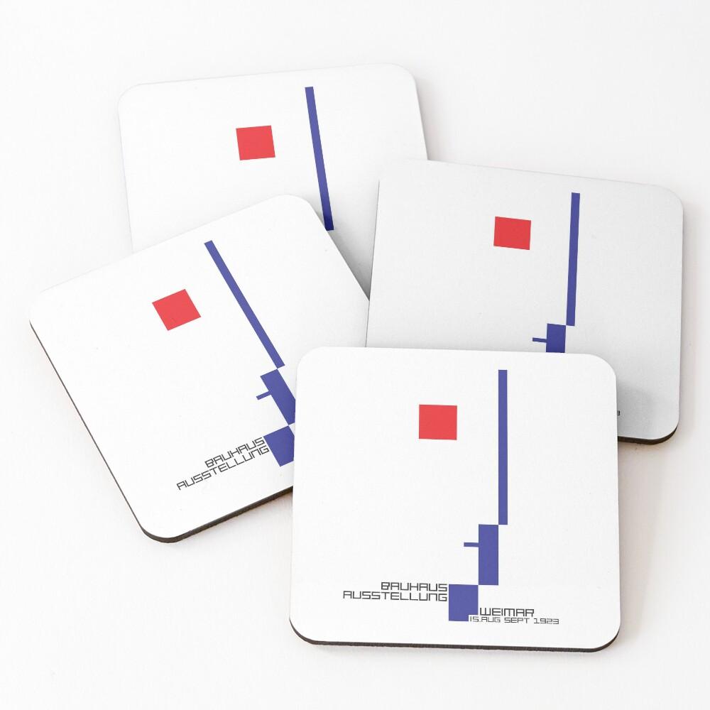 Bauhaus#4 Coasters (Set of 4)