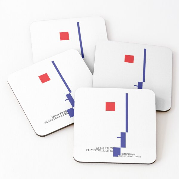 Bauhaus#4 Coasters (Set of 4)