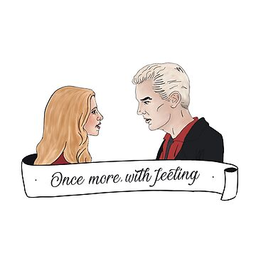 Once more, with feeling - Buffy & Spike by likeapeach