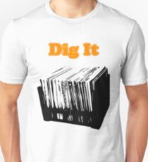 Dig It Vinyl Record Crate T-Shirt