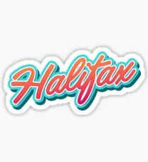Halifax Typo Sticker