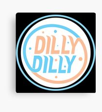 Dilly Dilly T-shirt/Dilly Dilly Apparel/Dilly Dilly Accessories Canvas Print