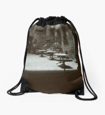 Wandering in Barcelona Drawstring Bag