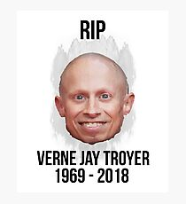 RIP Verne Jay Troyer Shirts BY WearYourPassion  Photographic Print