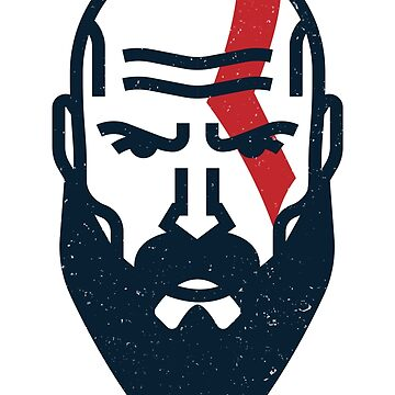 Kratos by pixelwolfie