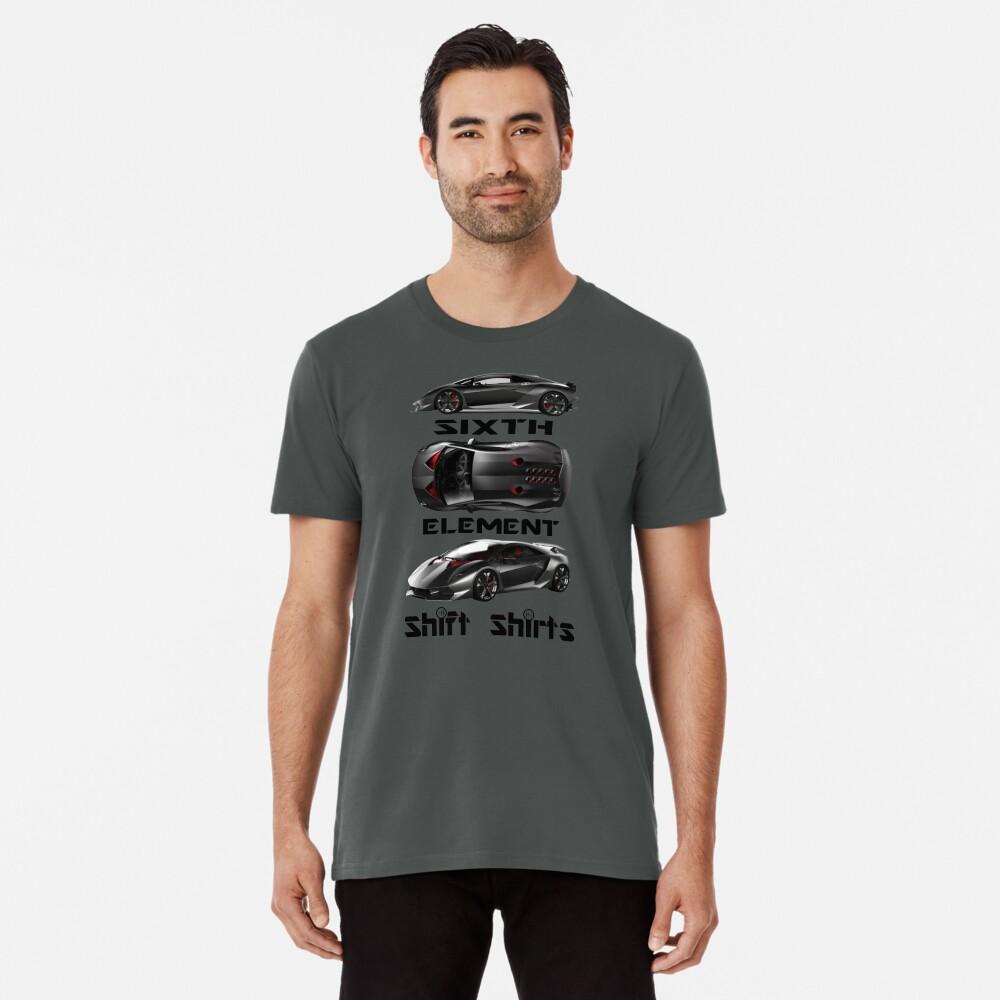 Shift Shirts Sixth Element – Sesto Elemento Inspired Premium T-Shirt