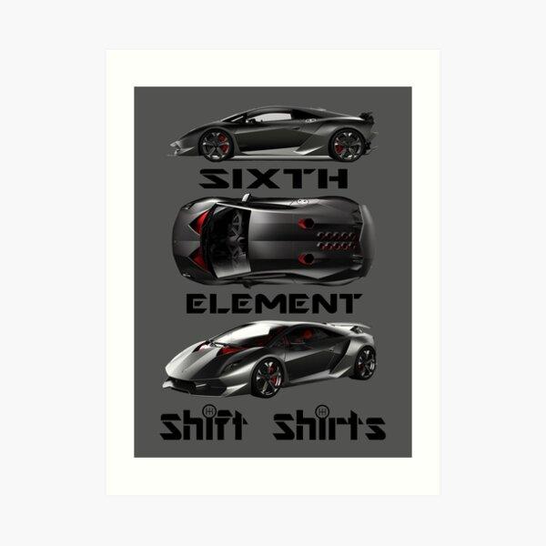 Shift Shirts Sixth Element – Sesto Elemento Inspired Art Print